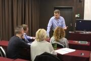 14-16 апреля Алексей Фатеев провел тренинг «Бизнес разведка – инструмент управленческой элиты»